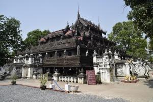 Monastère Shwe Nandaw (Mandalay)